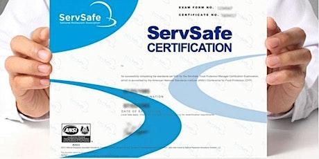 ServSafe® Online Exam + Online Food Manager Course* tickets