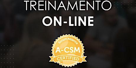 Treinamento A-CSM Advanced Certified Scrum Master - turma #08 ingressos
