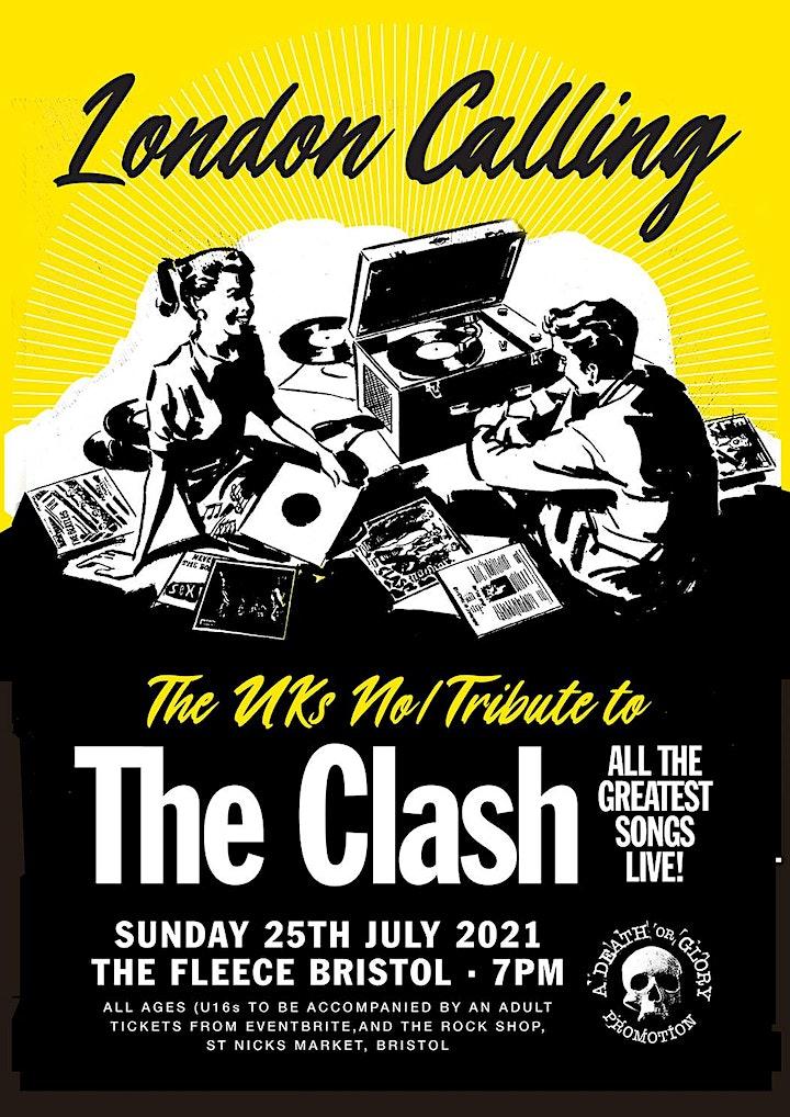 London Calling (Clash Tribute) Live at the Fleece Bristol image
