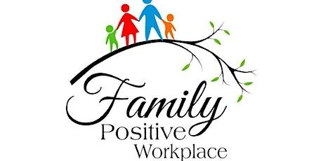 Coffee Corner,  Family Positive Workplace via Zoom billets