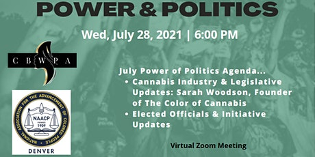 July POWER & POLITICS (Elected Official Registration) tickets