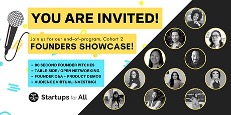 FOUNDERS SHOWCASE tickets