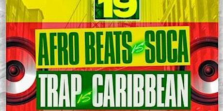 """""""JUBILEE"""" JUNETEENTH (FREE W/RSVP) AFRO VS TRAP VS CARIBBEAN VS SOCA tickets"""
