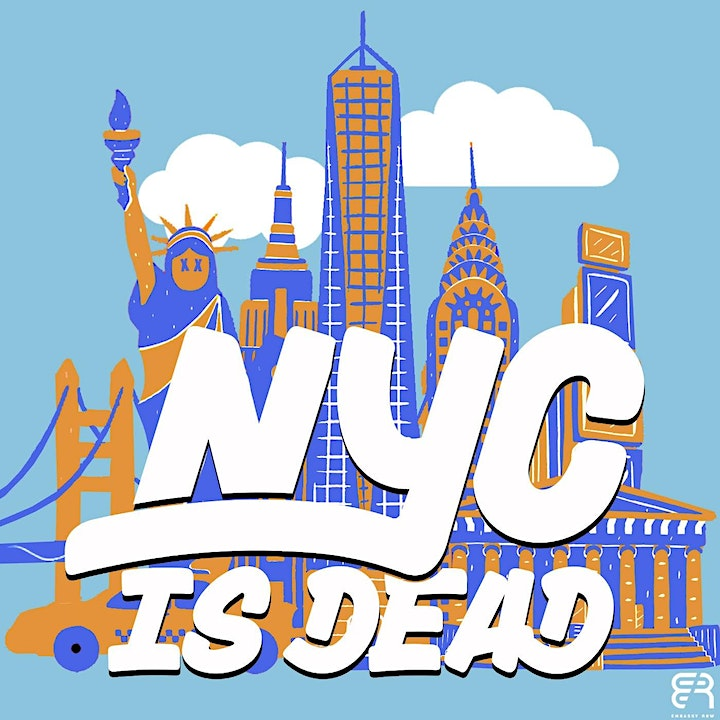 NYC is Dead (A Live Comedy AND Brass Music In Central Park) image