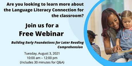 Language Literacy Connection: Building Early Foundations tickets