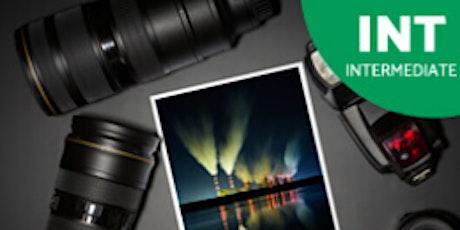 Intermediate Digital Photography July 20 tickets