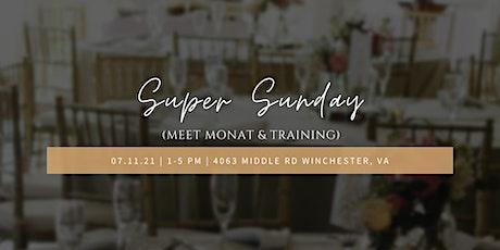Super Sunday: Meet Monat & Training tickets