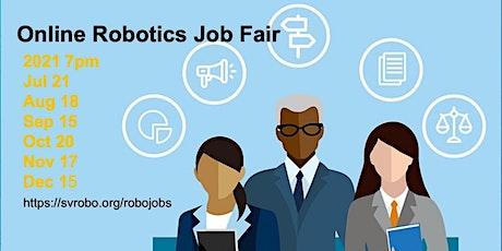 Online Robotics Job Fair tickets