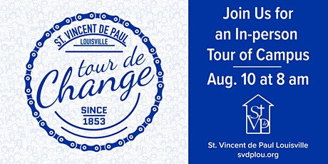 Tour de Change   On Campus and In Person tickets