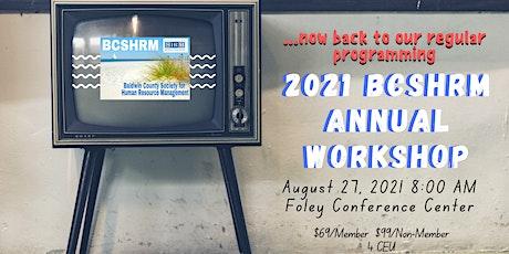 2021 BCSHRM Annual Workshop tickets