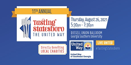11th Annual Tasting Statesboro...The United Way! tickets