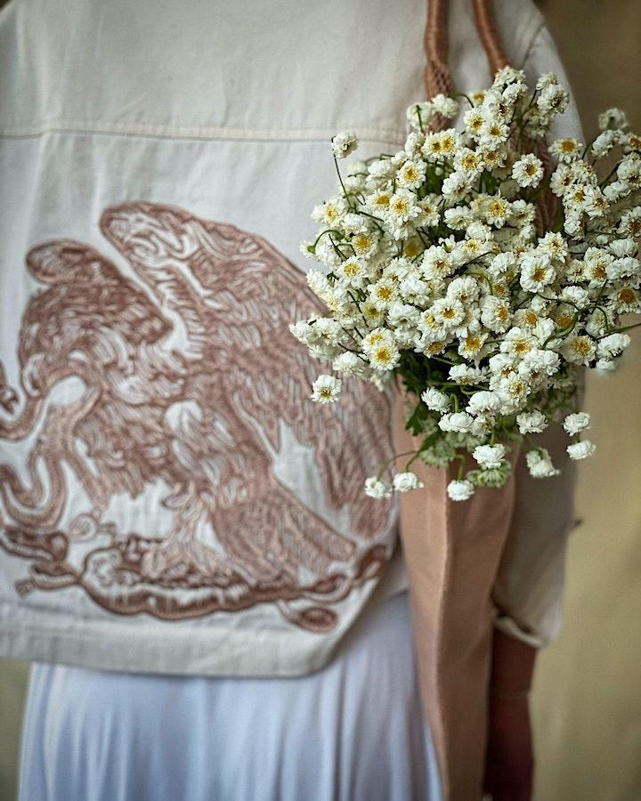 "MARCELA & CARINA SHOW  ""Tinga, Squash Blossom Quesadilla, Salsa de Molca"" image"
