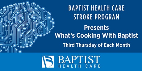 What's cooking with Baptist? tickets