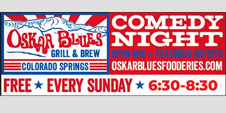 Oskar Blues Comedy Night tickets