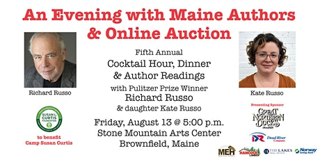 An Evening with Maine Authors V tickets