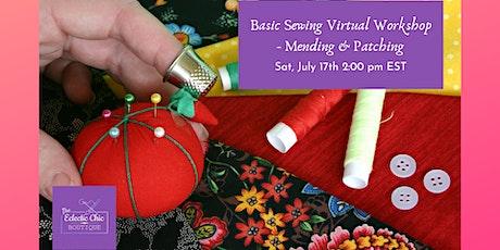 Sewing Basics: Repairs & Mending Virtual Workshop tickets
