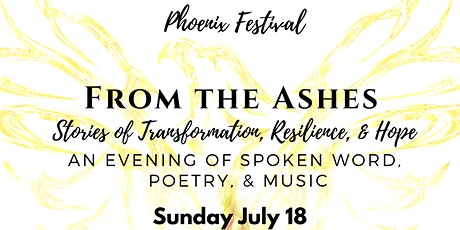 FROM THE ASHES: A Night of Spoken Word tickets