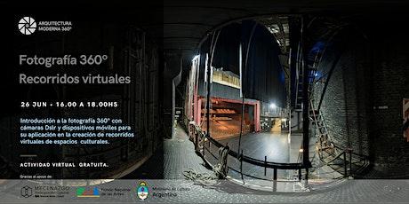 Fotografía 360° y recorridos virtuales para espacios culturales entradas