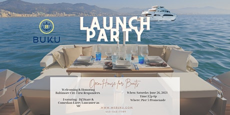 BUKU LAUNCH PARTY and Boat Open House tickets