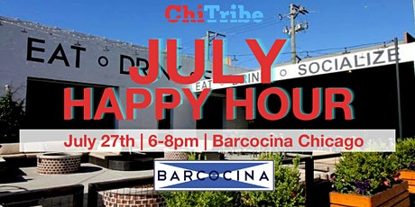July Happy Hour:  ChiTribe Re-Launch Event tickets