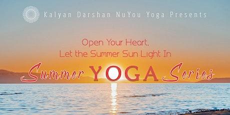 Summer Yoga Series Online tickets