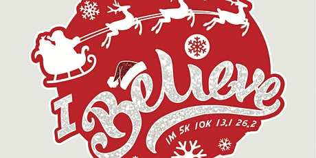 Santa's Big Day 1M 5K 10K 13.1 26.2-Participate from Home  Save $5 tickets