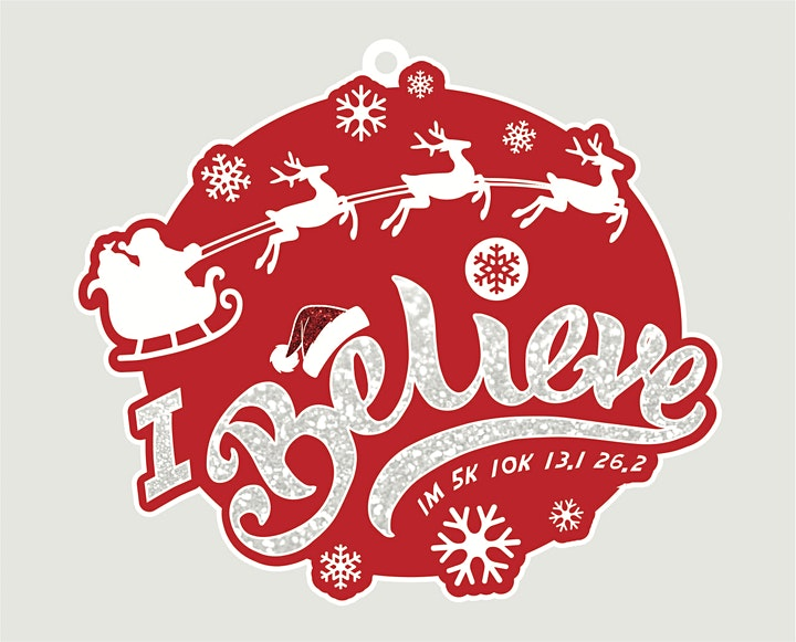 2021 Santa's Big Day 1M 5K 10K 13.1 26.2-Participate from Home  Save $5 image