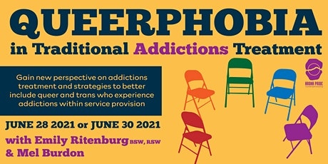Queerphobia in Traditional Addictions Treatment tickets