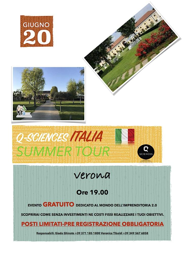 Immagine Q-Sciences Italia Summer Tour Verona