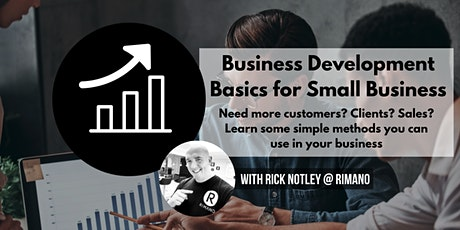 Business Development Basics for Small Business tickets
