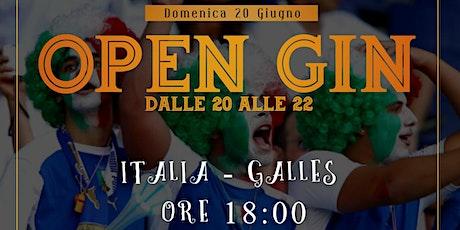 Giardini Ventura - Italia VS Galles e a seguire...... Open Gin biglietti