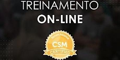 Treinamento CSM® - Certified Scrum Master - Online - Scrum Alliance - #140 ingressos