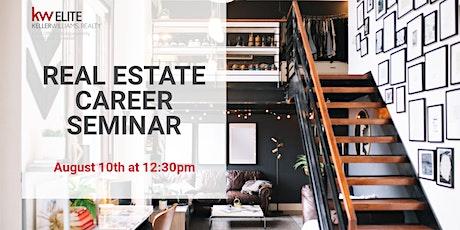 Real Estate Career Seminar, August 2021 - Keller Williams Elite tickets