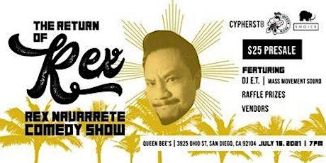 Rex Navarrete Comedy Show tickets