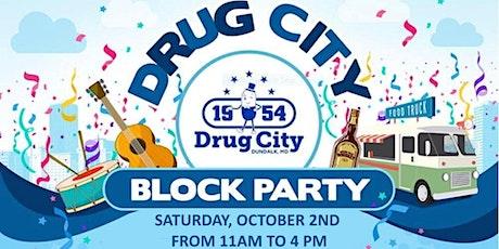 Drug City Block Party tickets