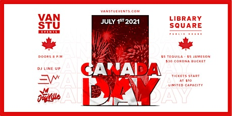Canada Day 2021 Vancouver tickets