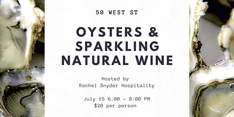 Oysters & Sparkling Natural Wine Tasting tickets