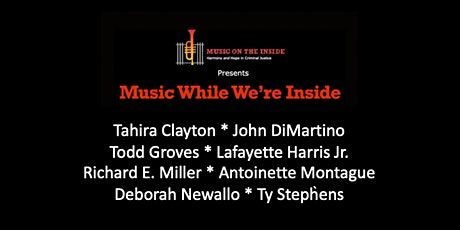 Music While We're Inside Free Concert on Sunday, June 20th at 6PM ET tickets