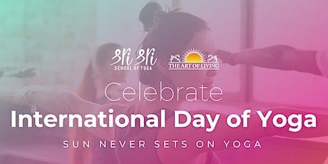 Free Yoga & Meditation Session: 7th International Day of Yoga Celebrations tickets