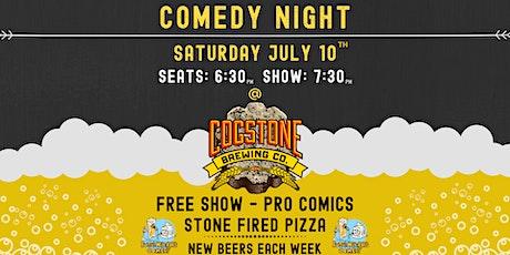 Cogstone Brewing's Comedy Night tickets