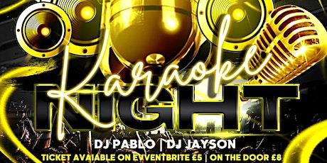 AfroBeats Karaoke tickets