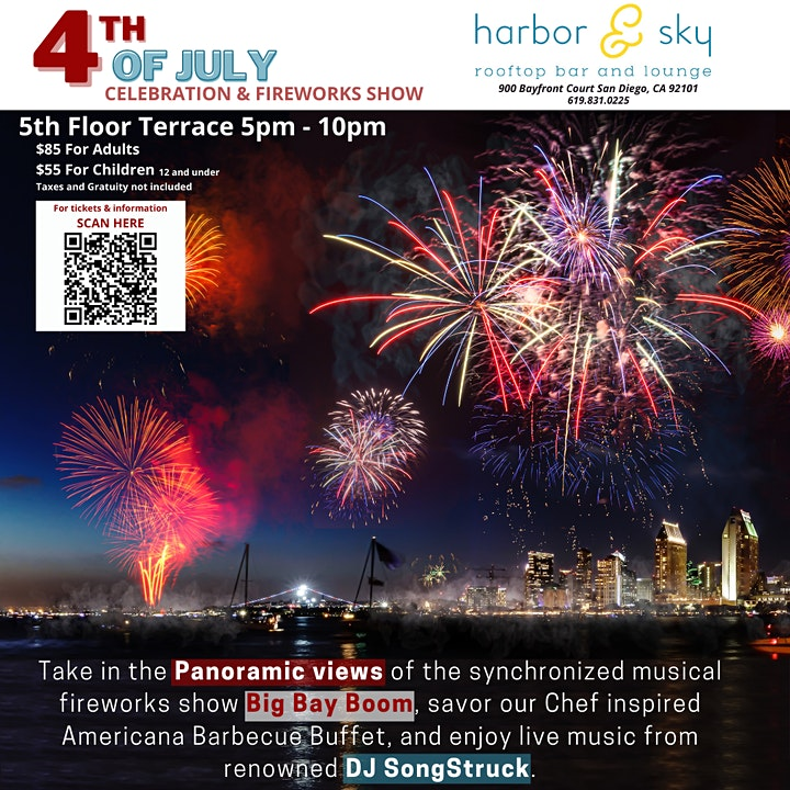4th of July Celebration & Fireworks Show image