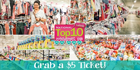 Kids EveryWEAR Consignment's $5 Shop before the Public Presale Sept 2021 tickets