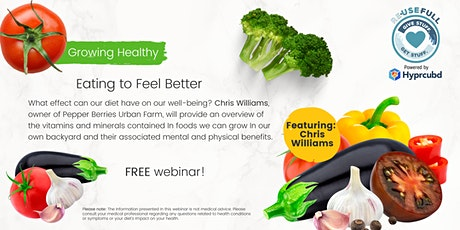 Growing Healthy: Eating to Feel Better tickets
