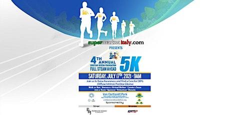 4th Annual Cristian Rivera Foundation Virtual 5k tickets