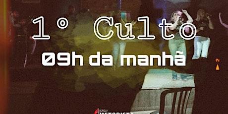 CULTO DOMINGO - MANHÃ ingressos