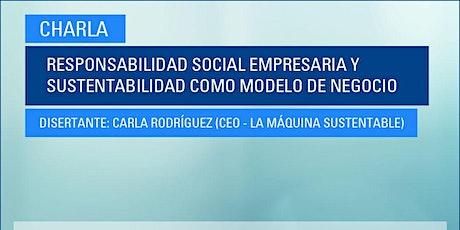 Responsabilidad Social Empresaria y Sustentabilidad como modelo de negocio boletos