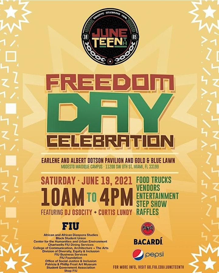 FIU Juneteenth Freedom Day Celebration image