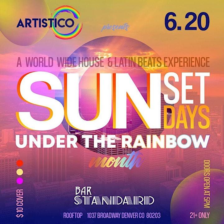 Sunset Sundays at The Rooftop at Bar Standard image
