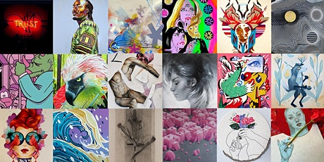DECAHEDRON Online Art Show | Artists on the Lam's 10th Anniversary tickets